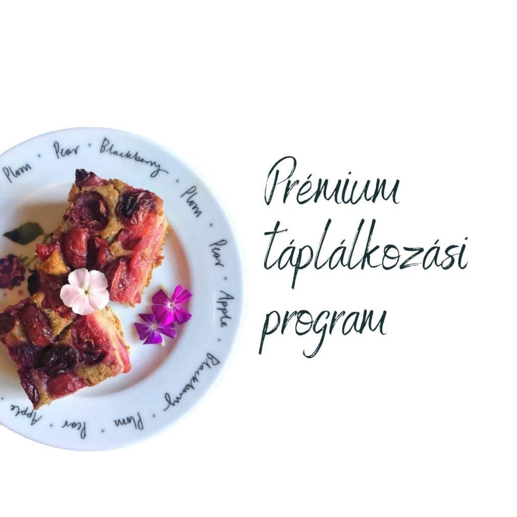 Prémium táplálkozási program